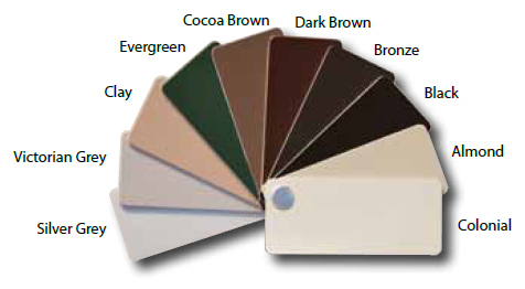 Window Exterior Color Options